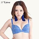 37°love Women's Comfortable Deep V Sexy Gather Bra