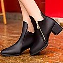 Womens Shoes Smandy Pointed Toe Chunky Heel  Ankle Boots  More Colors available