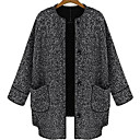 All Match Loose Fit Tweed Coat