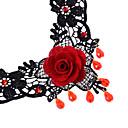 collar de piedras preciosas de encaje europeo señorita (collar: 26cm)