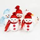 20cm muñeco de nieve colgante de árbol único (color al azar) navidad