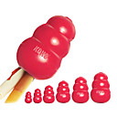 capacitación mascotas de tamaño pequeño extra de forma de calabaza de color rojo los dientes limpios agarre de la pelota