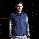 Mens Contrast Color Thin Jacket