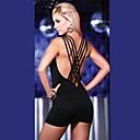 club de chica ropa criss sexy de las mujeres vestido de cruzar de nuevo bodycon celeb caliente vestido del club 4088
