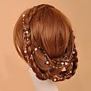 130cm Longitud hecha a mano perlas de imitación de la boda / del partido de la joyería de la frente (más colores)
