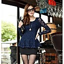 Womens Embroidery Lace Blouse