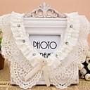 Womens Openwork Crochet Lace Chiffon Bow Collar