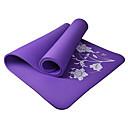 10mm flor NBR estera de gimnasio de yoga
