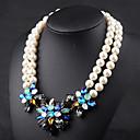 collar de perlas de la luna print año de las mujeres