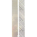 2PCS Golden Pattern Nail Art Stickers YK-058