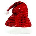 brilla el modelo de puntos sombrero Feliz Navidad (más colores)