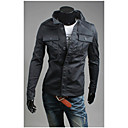 City Men's Casual Basic Fashion Soft Jacket