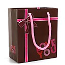 English Letters of Love You Pattern Gift Bags (More Colors)
