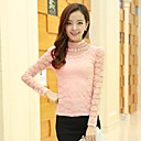 ICED™ Womens Fashion Stand Collar Cut Out Long Sleeve Blouse (More Colors)
