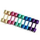 Stainless Steel Earrings Inlay Rhinestone (1Pair)(Five Colors)