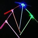 juguetes platillo volador libélula para niños dirigido (color al azar)