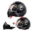 LS2 multifuncional compuesto motocicleta casco cálido A prueba de frío toda la cara y la mitad de doble casco propósito