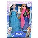 """congelado elsa princesa brillo y anna vocal muñeca muñeco de nieve olaf (2pcs 14 """")"""