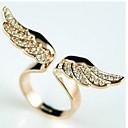 anillo elegante apertura ala diamonade de leo heartwomen