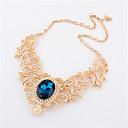 ouxier collar de perlas de piedras preciosas de las mujeres