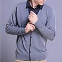 2014 cuello de la camisa nueva ola punto falsos dos suéteres de los hombres