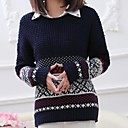 Womens Casual   Pullover Long Sleeve Loose Sweaters(More Colors)