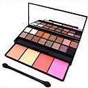 20 Color 2en1 4 coloreteamp;16 ojo cajón paleta cosmética maquillaje de la sombra con espejoamp;aplicador de esponja