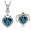 Womens Elegant Diamante Jewelry Sets