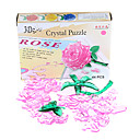 44pcs Crystal Rose rompecabezas
