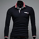 Fanzhuo Men'S Contrast Color Polo Shirt 1600/775