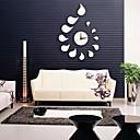 Ai 20 Modern FashionSimple Mirror Drop Shape Clock