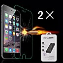Damage Protection Tempered Glass Screen Protector with Cleaning Cloth for Iphone 6 (2 PCS)