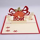 campana de navidad dimensiones tarjetas de Navidad