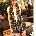 Womens Winter Retro Ethnic Character Chain Chiffon Design Scarves