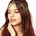 Turquoise Tassel Hair Band