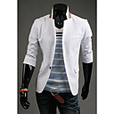 GMIG Men's 3/4 Sleeve Slim Causual Suit Blazer