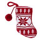 lana medias rojas de Navidad (1pc)