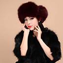 accesorios de piel sombrero de piel de piel de mapache ocasión especial / sombrero informal (más colores)