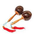 golpear la bola cáscara de coco maraca para la atmósferaamp;entretenimiento childern
