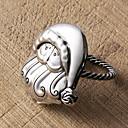 Set of 4 Santa Claus Napkin Ring, Zinc Alloy,5.5x4cm