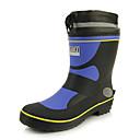 bootsshoes botas de lluvia zapatos de los hombres de tacón bajo las botas de goma mitad de la pantorrilla más colores disponibles