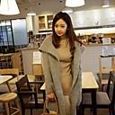2014 de bolsillo de manga larga nueva moda diseñados rebecas ocasionales de las mujeres