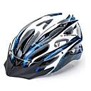 pc robesbon y eps bicicleta ajustable montando cascos de bicicleta de montaña con forma integralmente [omnibearing casco lámpara] (22 rejillas de