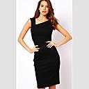 VERYM Womens Long Sleeve Mesh Slim Bodycon Dresses