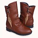 borla de la moda de invierno de las mujeres chaw martens botas cortas pq2