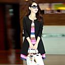 chaqueta de tweed de la moda de las mujeres eliang