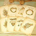 diamantes vintage tarjeta de Navidad