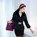 abrigo de imitación collar de la piel de piel de la moda de las mujeres helados ™ (más colores)