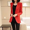Womens New Style Long Casual Blazer Coat