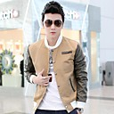 Mens Casual Fashion Slim Jacket